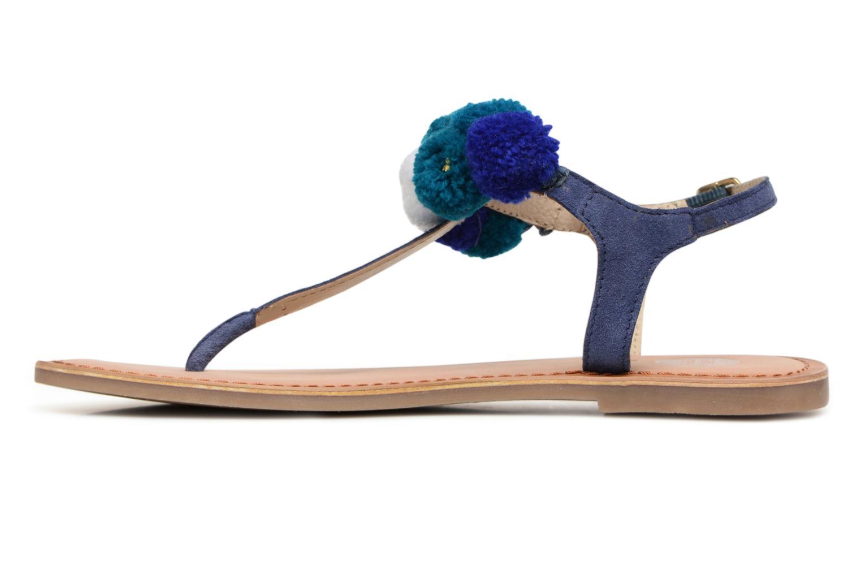 Sandales et nu-pieds Gioseppo Hatae Bleu vue face