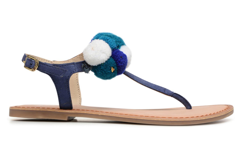 Sandales et nu-pieds Gioseppo Hatae Bleu vue derrière