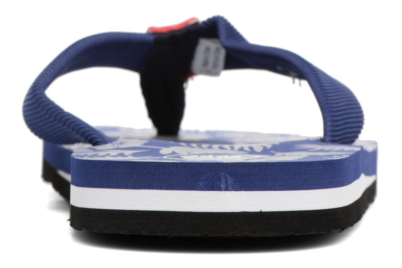 Tongs Gioseppo Racel Bleu vue droite
