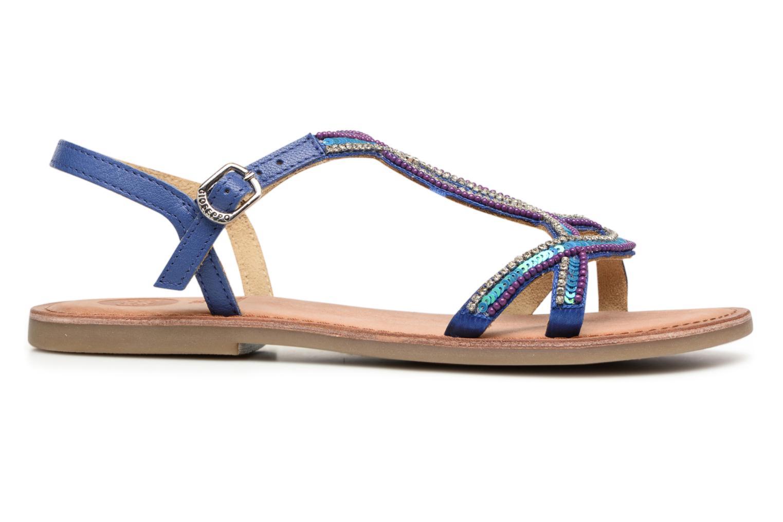 Sandales et nu-pieds Gioseppo Sanscrito Bleu vue derrière