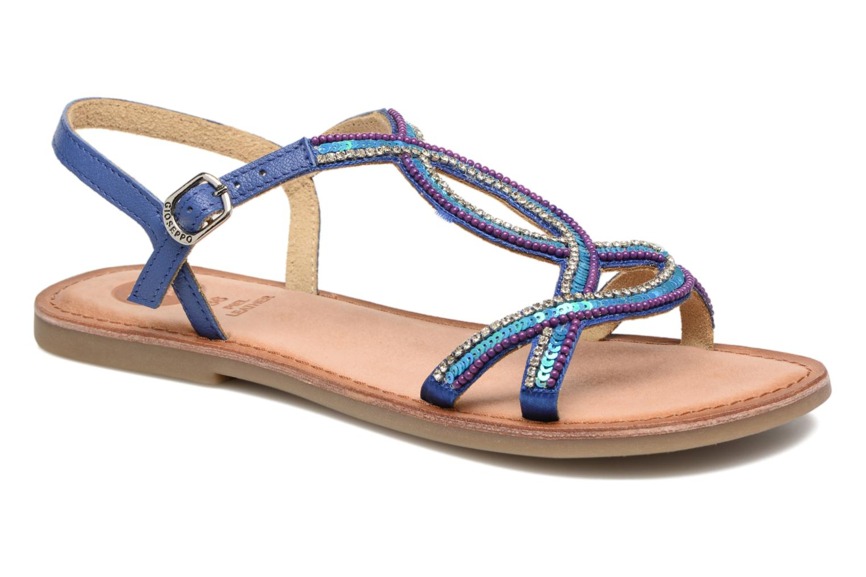 Sandales et nu-pieds Gioseppo Sanscrito Bleu vue détail/paire