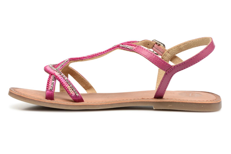 Sandales et nu-pieds Gioseppo Sanscrito Rose vue face