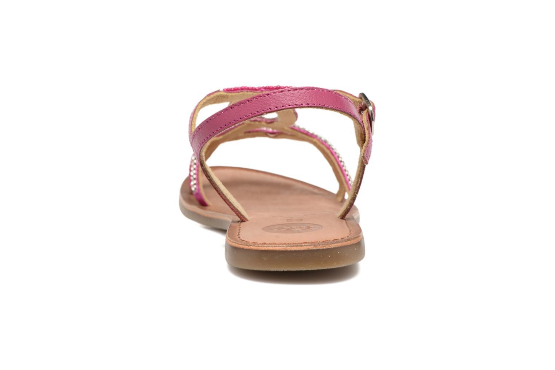 Sandales et nu-pieds Gioseppo Sanscrito Rose vue droite