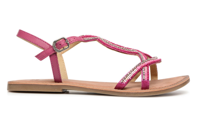 Sandales et nu-pieds Gioseppo Sanscrito Rose vue derrière