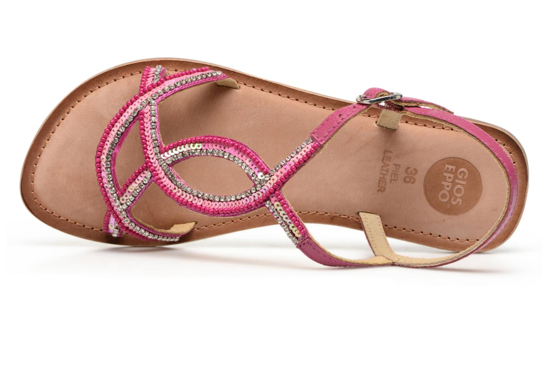 Sandales et nu-pieds Gioseppo Sanscrito Rose vue gauche