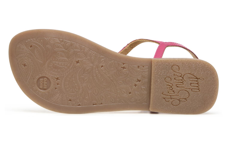 Sandales et nu-pieds Gioseppo Sanscrito Rose vue haut
