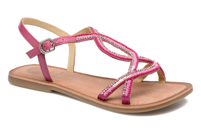 Sandales et nu-pieds Gioseppo Sanscrito Rose vue détail/paire