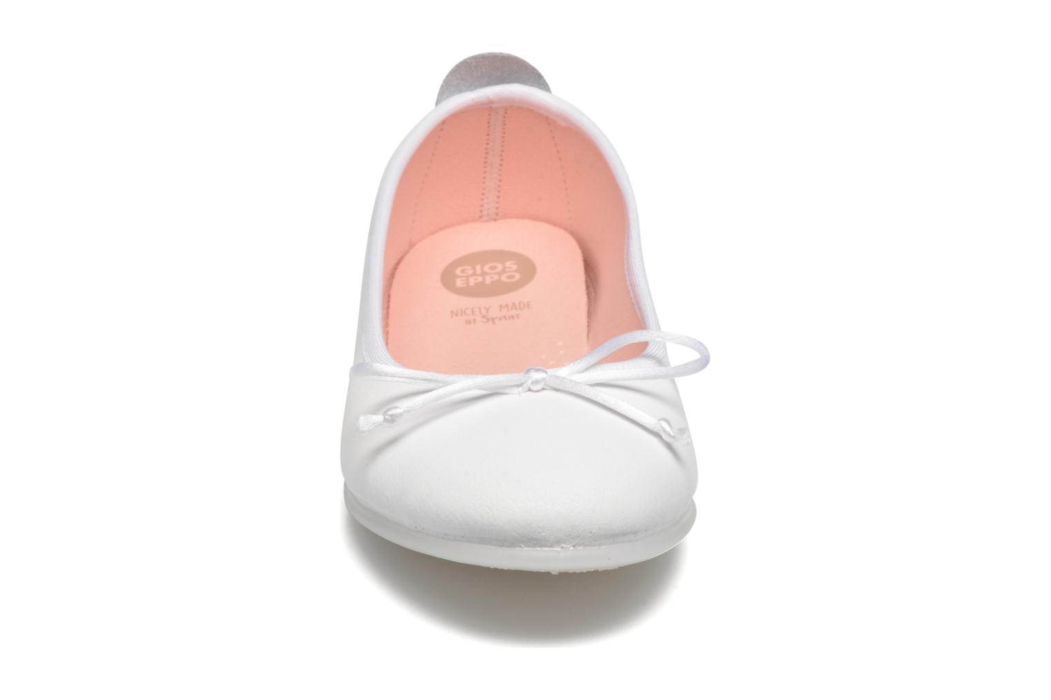 Ballet pumps Gioseppo Ainara White model view