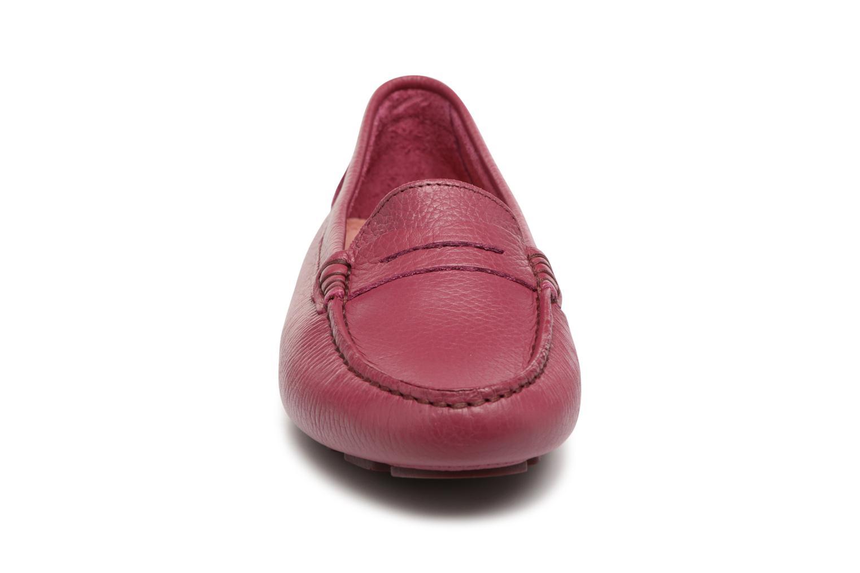Mocassins Heyraud EDWINA Bordeaux vue portées chaussures