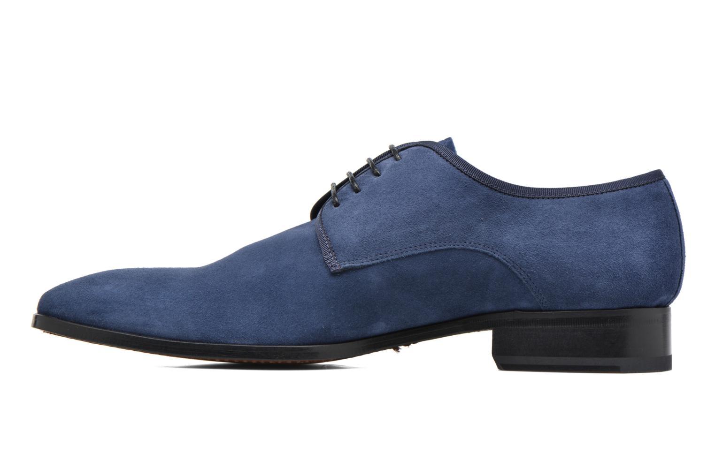 Chaussures à lacets Heyraud EMERIC Bleu vue face