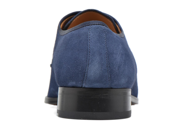 Chaussures à lacets Heyraud EMERIC Bleu vue droite