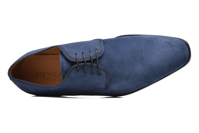 Chaussures à lacets Heyraud EMERIC Bleu vue gauche