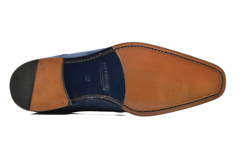 Chaussures à lacets Heyraud EMERIC Bleu vue haut