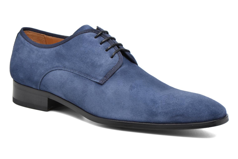 Chaussures à lacets Heyraud EMERIC Bleu vue détail/paire