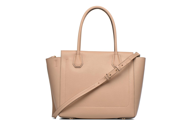Handbags Michael Michael Kors MERCER LG CONV TOTE Beige front view