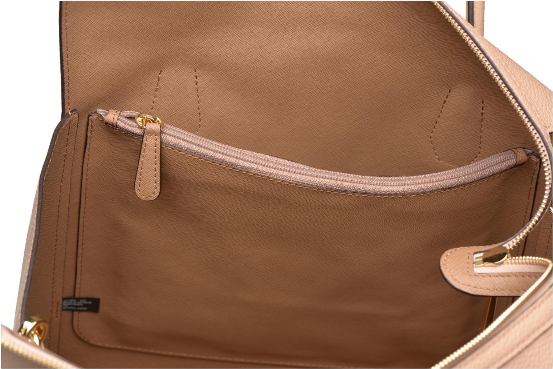 Handbags Michael Michael Kors MERCER LG CONV TOTE Beige back view