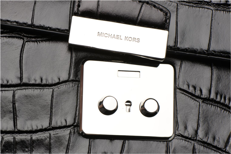 Sacs à main Michael Michael Kors SLOAN EDITOR MD CHAIN SHOULDER Noir vue gauche