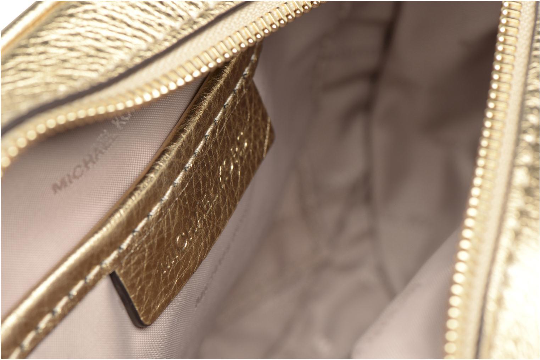 Bolsos de mano Michael Michael Kors GINNY MD MESSENGER Oro y bronce vistra trasera