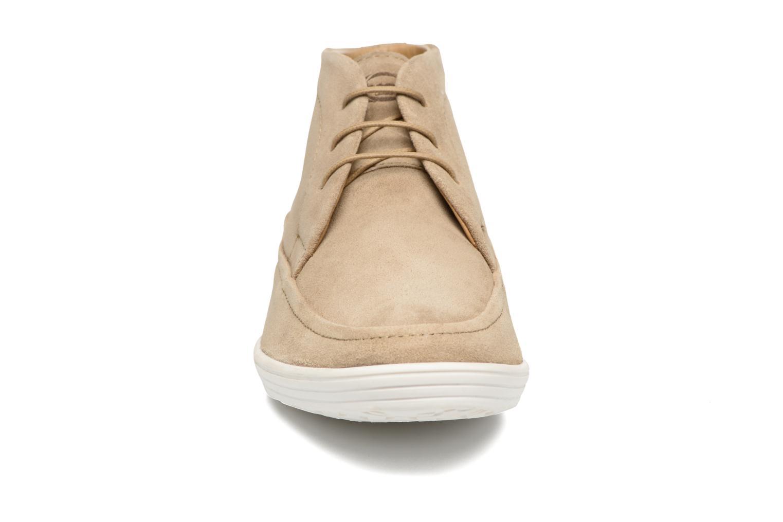 Chaussures à lacets Base London Venue Beige vue portées chaussures