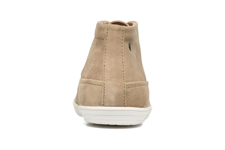 Chaussures à lacets Base London Venue Beige vue droite
