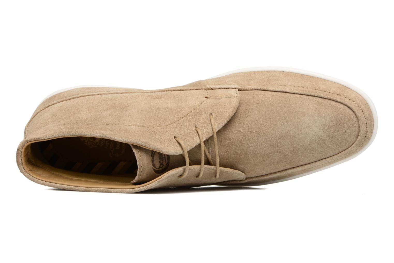 Chaussures à lacets Base London Venue Beige vue gauche