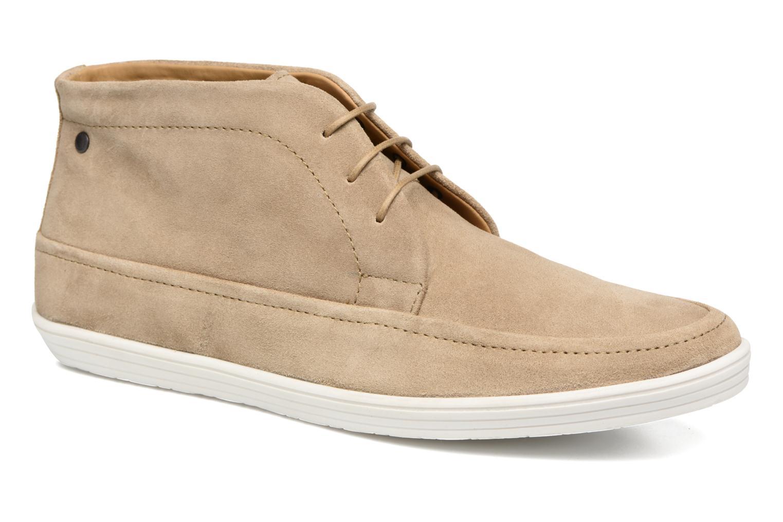 Chaussures à lacets Base London Venue Beige vue détail/paire