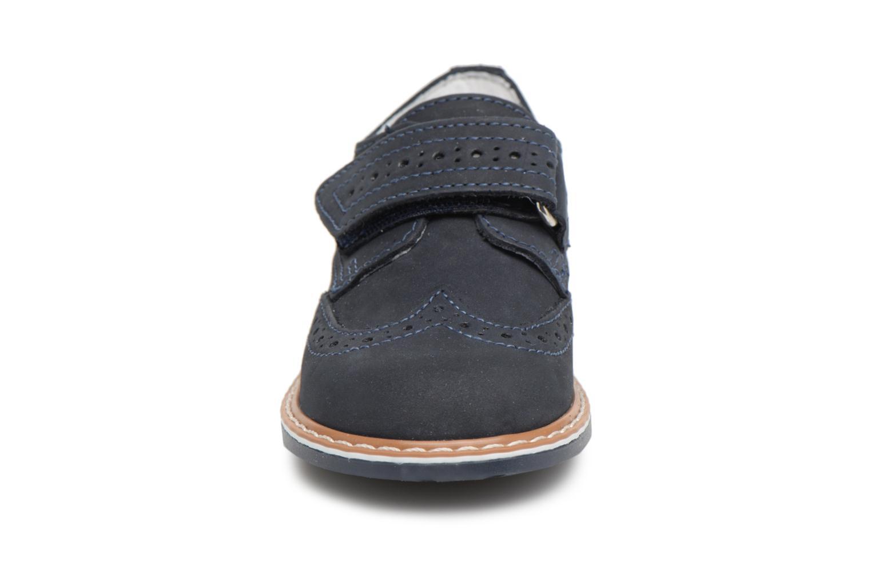 Chaussures à scratch Melania Diego Bleu vue portées chaussures