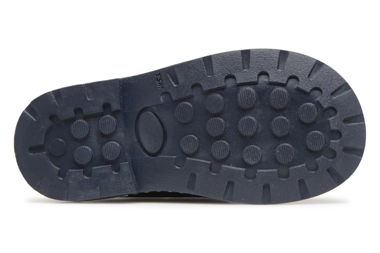 Chaussures à scratch Melania Diego Bleu vue haut
