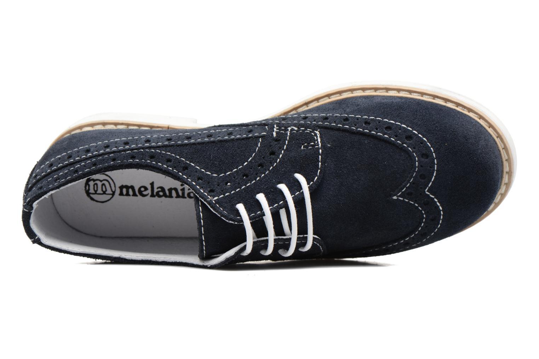 Chaussures à lacets Melania Marcello Bleu vue gauche