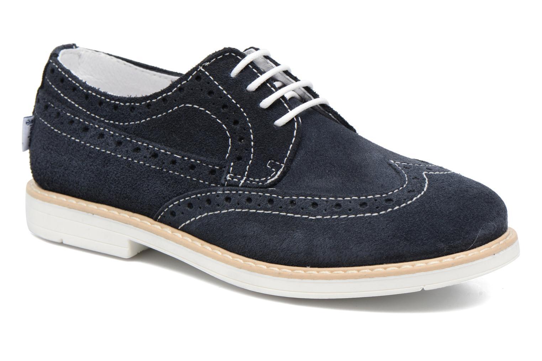 Zapatos con cordones Melania Marcello Azul vista de detalle / par
