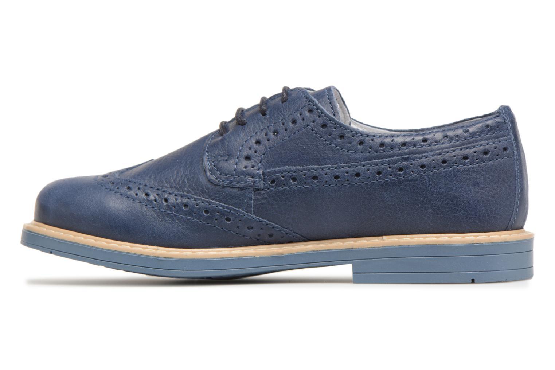 Chaussures à lacets Melania Marcello Bleu vue face
