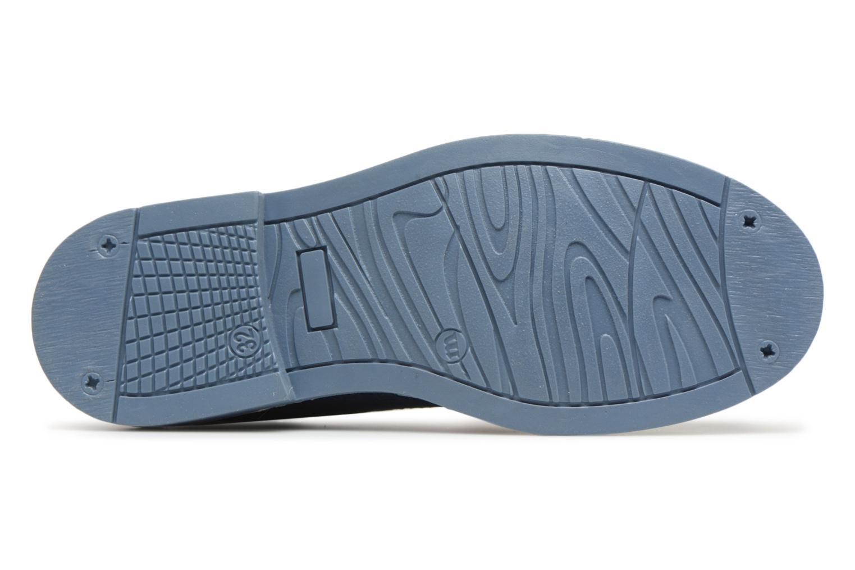 Chaussures à lacets Melania Marcello Bleu vue haut