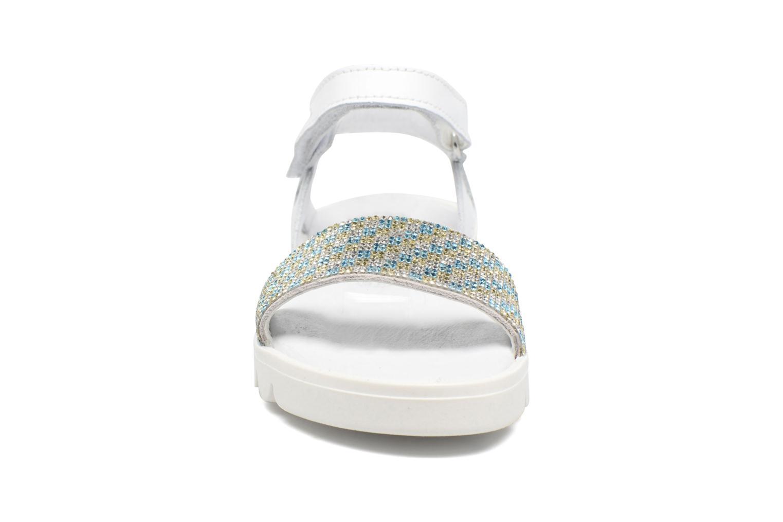 Sandales et nu-pieds Melania Maia Blanc vue portées chaussures