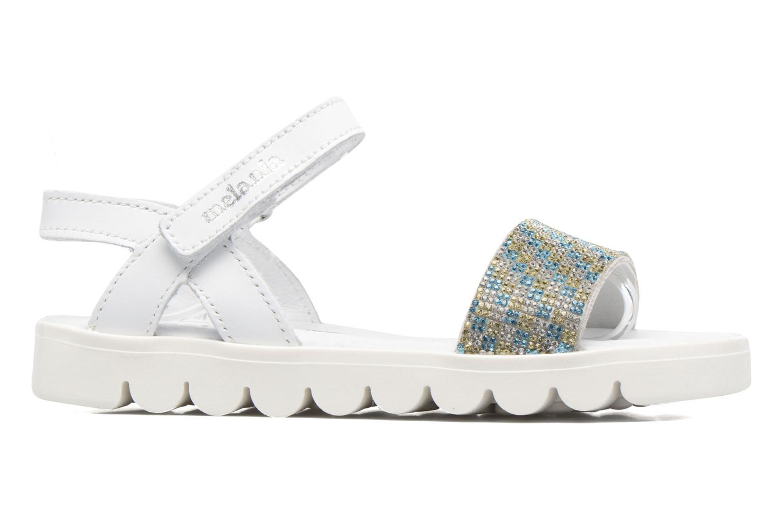 Sandales et nu-pieds Melania Maia Blanc vue derrière