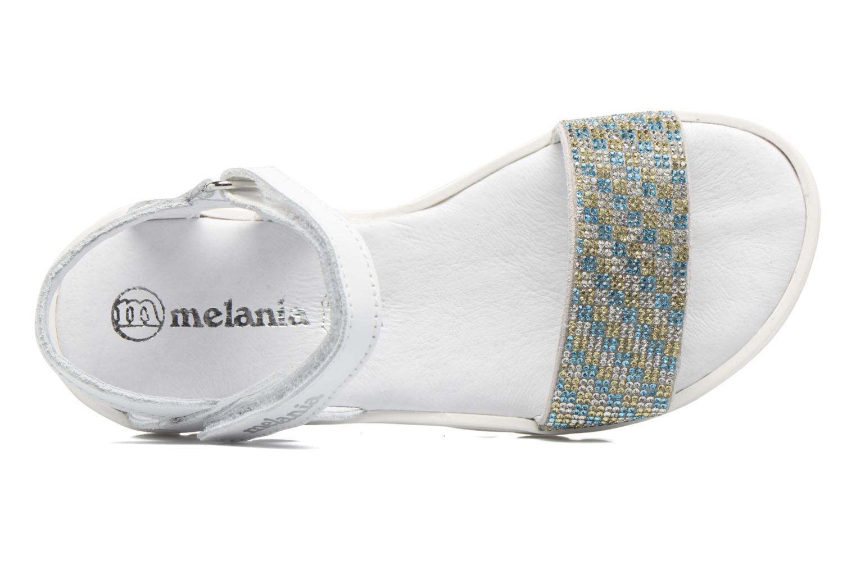 Sandales et nu-pieds Melania Maia Blanc vue gauche