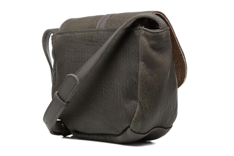 Handtaschen Craie Thèse Bubble grau ansicht von rechts