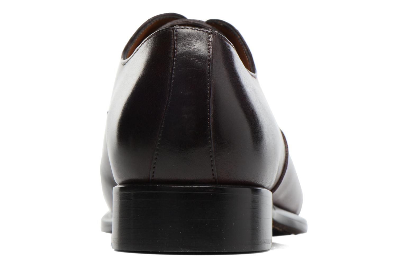 Snörade skor Marvin&Co Luxe Dagenham Vinröd Bild från höger sidan