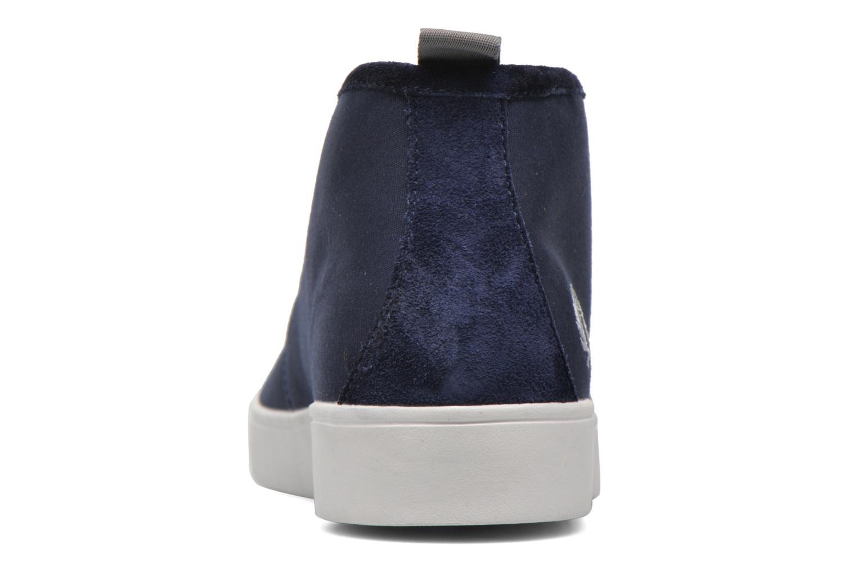 Shields Mid Wax Cotton Carbon Blue
