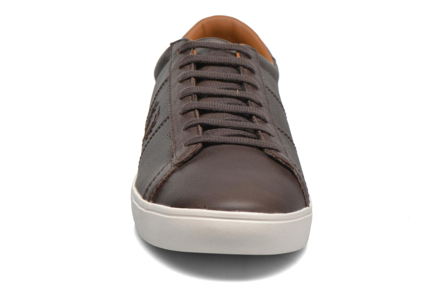 Spencer Tumbled Leather Dark chocolate