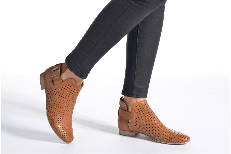Bottines et boots Karston Jorba Bleu vue bas / vue portée sac