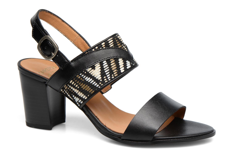 Sandaler Karston Pogo Sort detaljeret billede af skoene