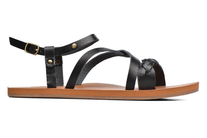Sandales et nu-pieds Roxy Britney Noir vue derrière