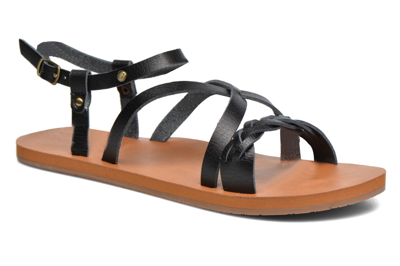 Sandales et nu-pieds Roxy Britney Noir vue détail/paire