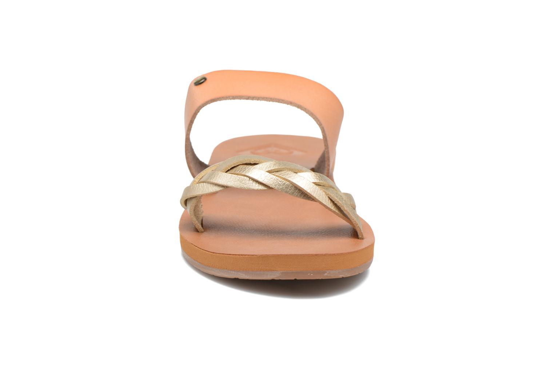 Mules et sabots Roxy Tess Marron vue portées chaussures
