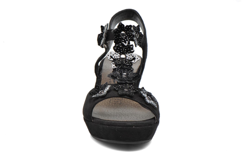 Sandales et nu-pieds Madison Esabela Noir vue portées chaussures