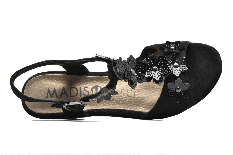 Sandales et nu-pieds Madison Esabela Noir vue gauche