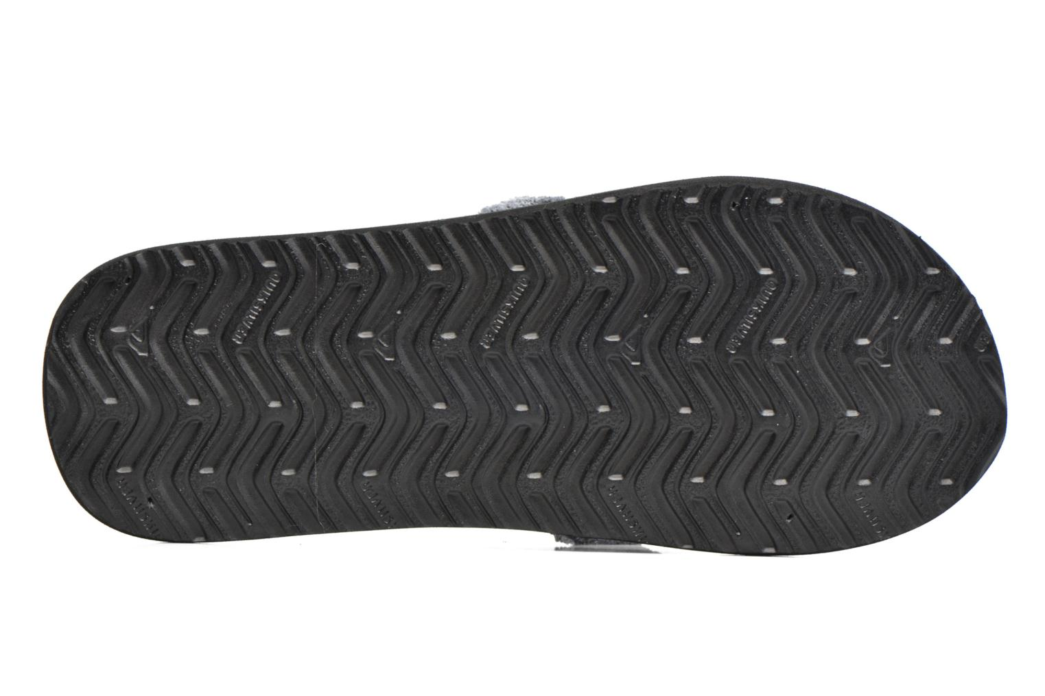 Flip flops Quiksilver Monkey Abyss M Grey view from above