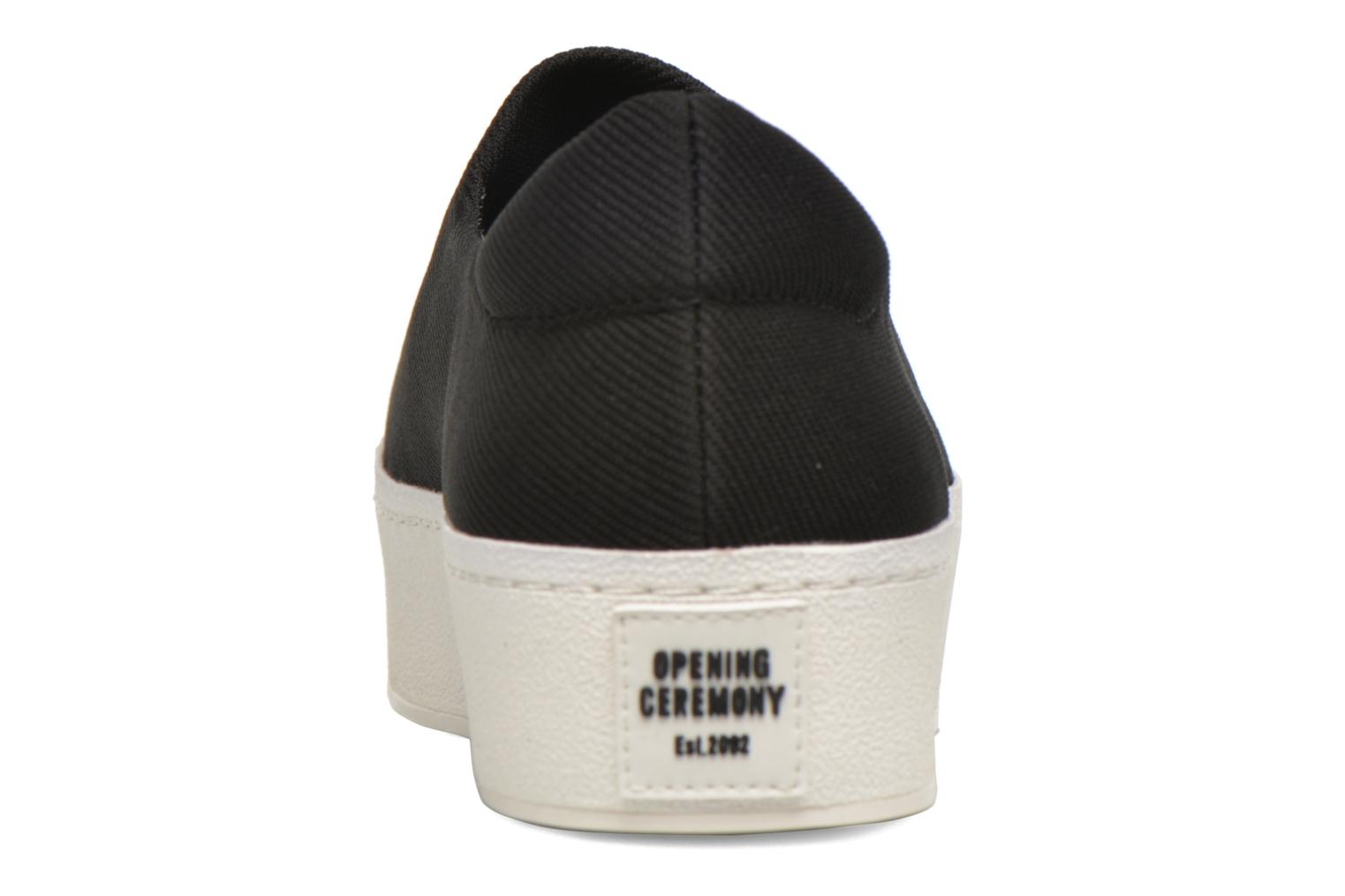 Baskets Opening Ceremony Cici Broidery Noir vue droite