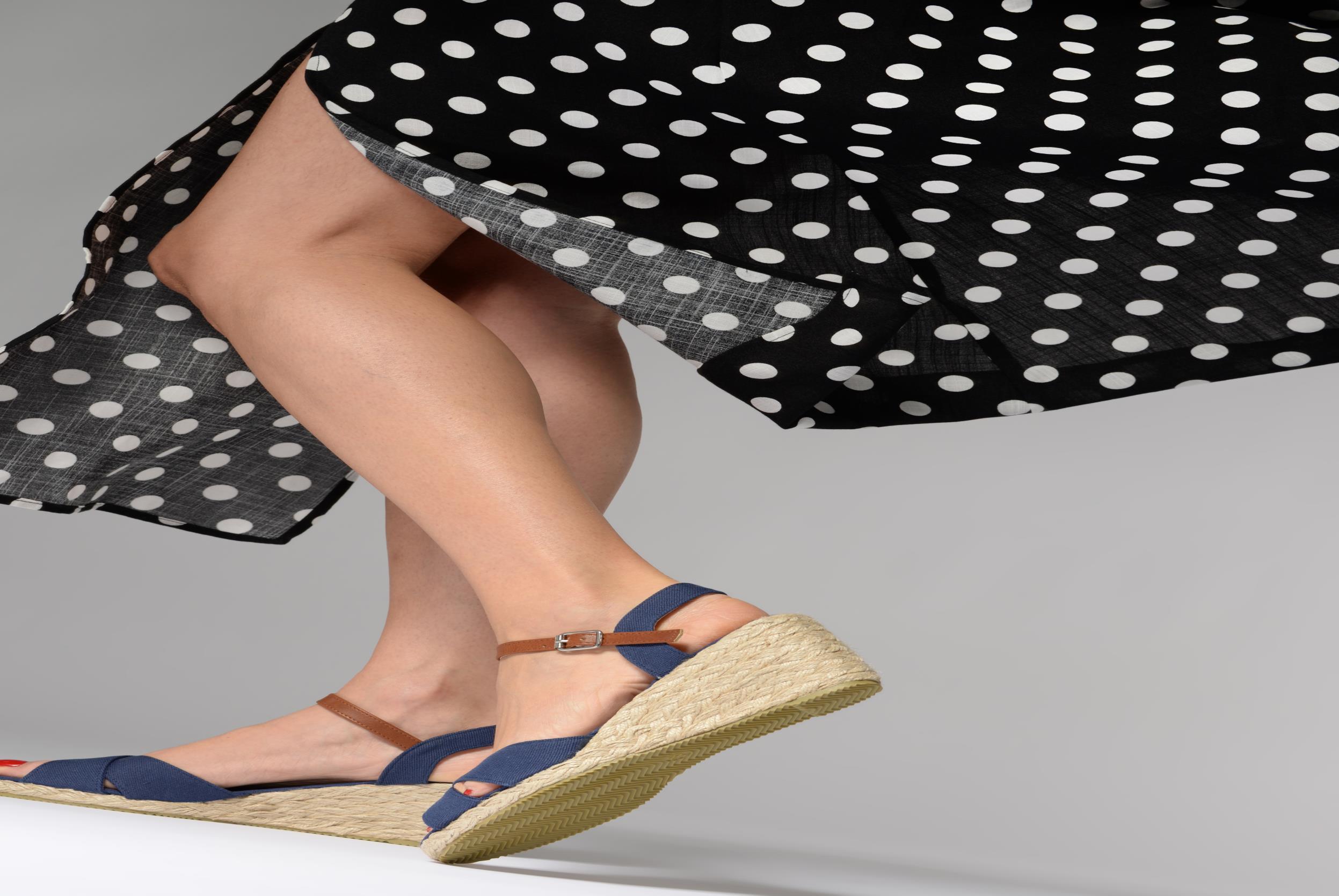 Sandaler I Love Shoes MCEMIMI Blå bild från under