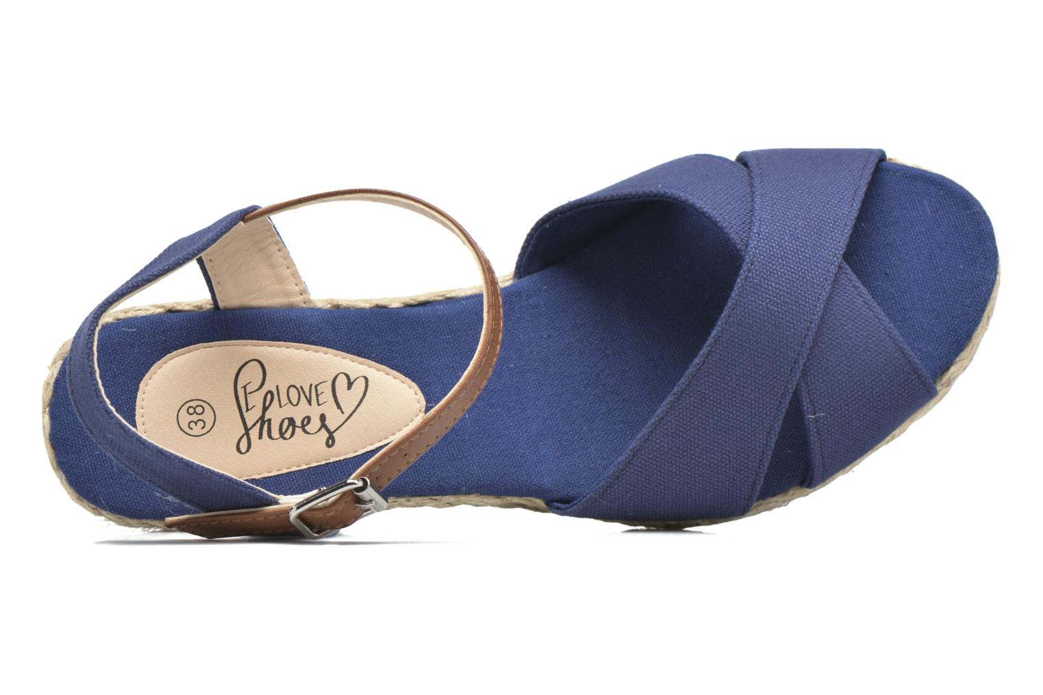 Sandalen I Love Shoes MCEMIMI blau ansicht von links